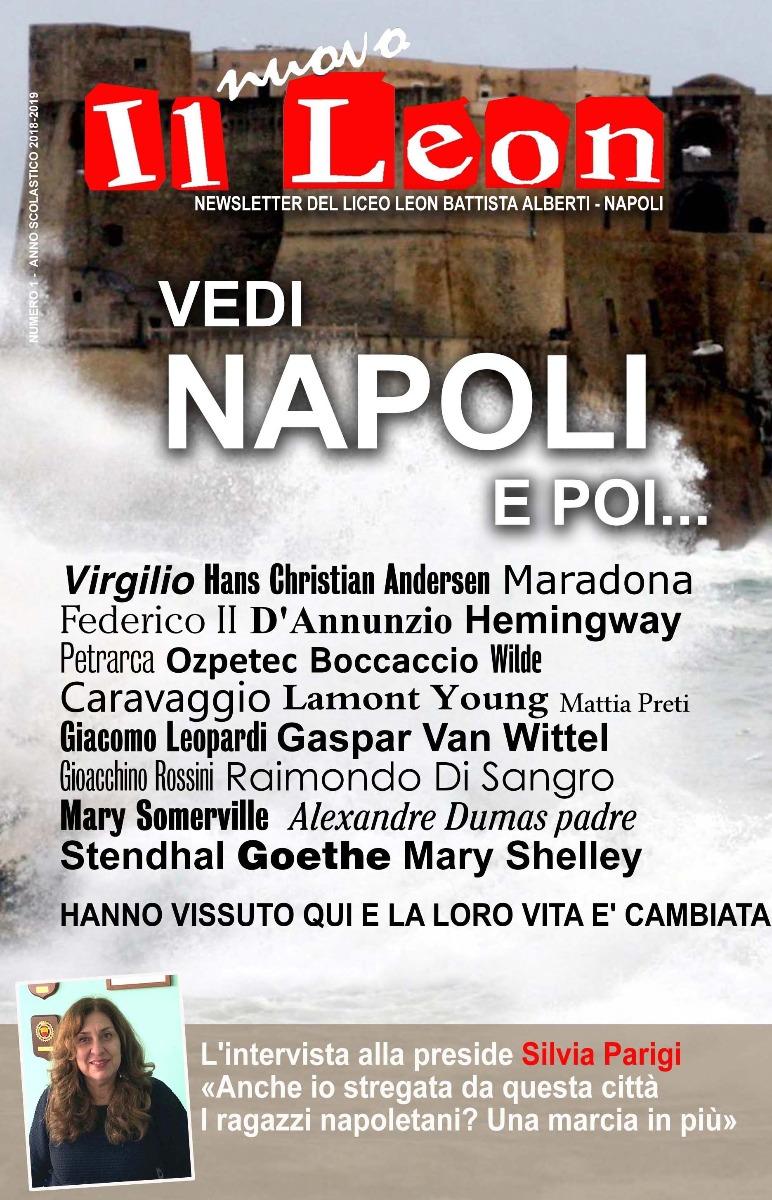 Il Leon - Newsletter del Liceo Alberti di Napoli 3
