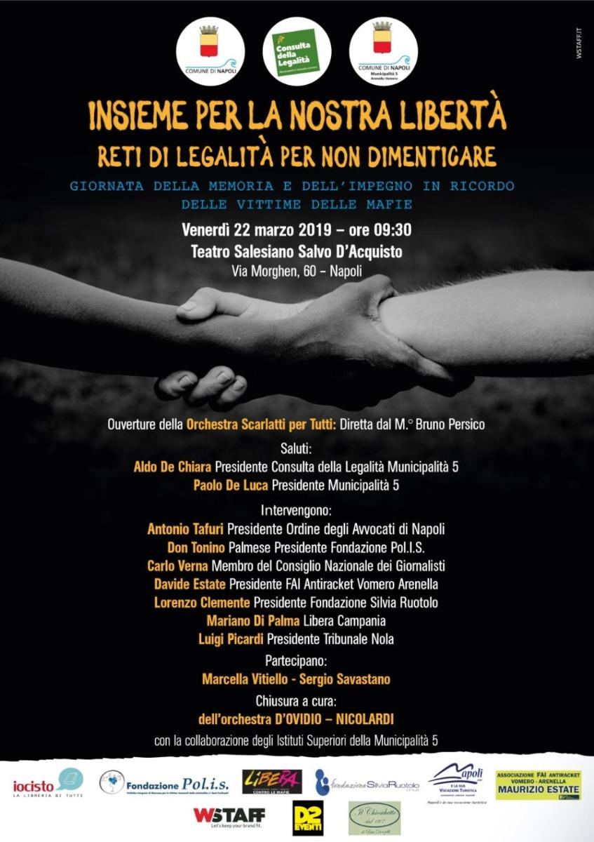 XXIV Giornata della Memoria e dell'Impegno in ricordo delle vittime innocenti delle mafie