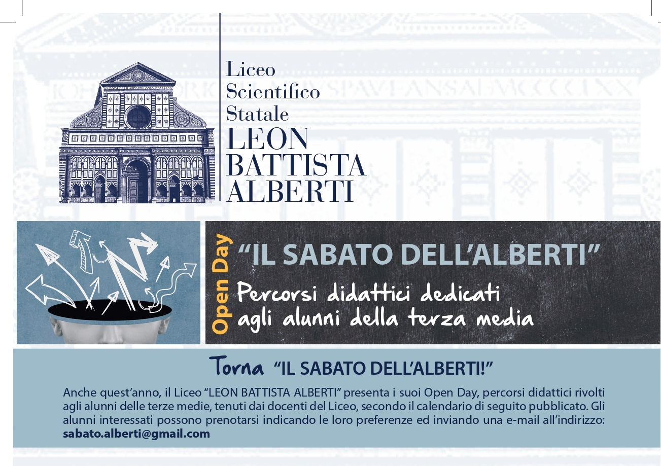 I Sabati dell'Alberti - Open Day